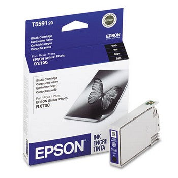 Epson T5591 Black Ink Cartridge, Epson T559120