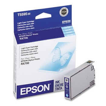 Epson T5595 Light Cyan Ink Cartridge, Epson T559520