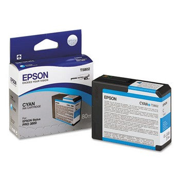 Epson T5802 Cyan Ink Cartridge, Epson T580200