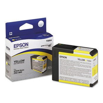 Epson T5804 Yellow Ink Cartridge, Epson T580400