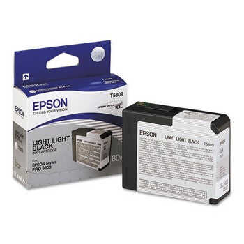 Epson T5809 Light Black Ink Cartridge, Epson T580900