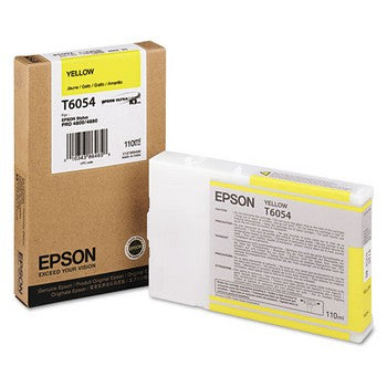 Epson T6054 Yellow Ink Cartridge, Epson T605400
