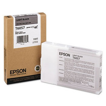 Epson T6057 Light Black Ink Cartridge, Epson T605700