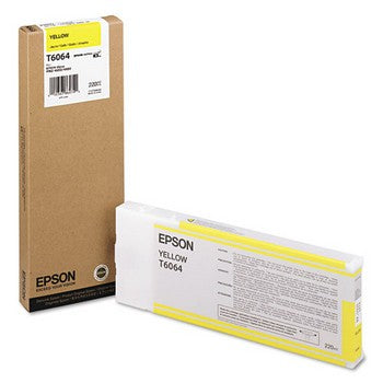 Epson T6064 Yellow, High Capacity Ink Cartridge, Epson T606400