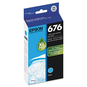 Epson T676XL220 Cyan Ink Cartridge