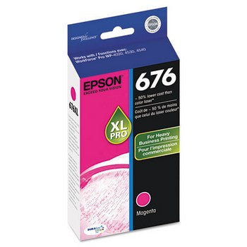 Epson T676XL320 Magenta Ink Cartridge