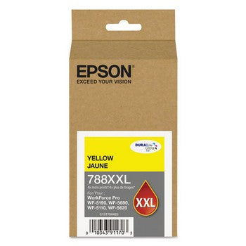 Epson 788 XXL Yellow, Standard Yield Ink Cartridge, Epson T778XXL420