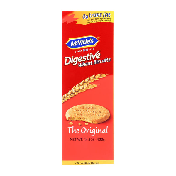Mcvities Digestive Wheat Biscuits - Case Of 12 - 14.1 Oz.