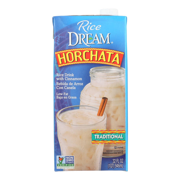 Imagine Foods Rice Dream Traditional Rice Drink - Horchata - Case Of 6 - 32 Fl Oz.