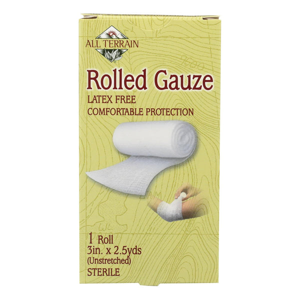 All Terrain - Gauze - Rolled - 3 Inches X 2.5 Yards - 1 Roll