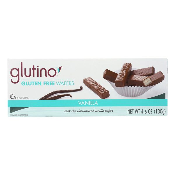 Glutino Chocolate Vanilla Cookies - Case Of 12 - 4.6 Oz.