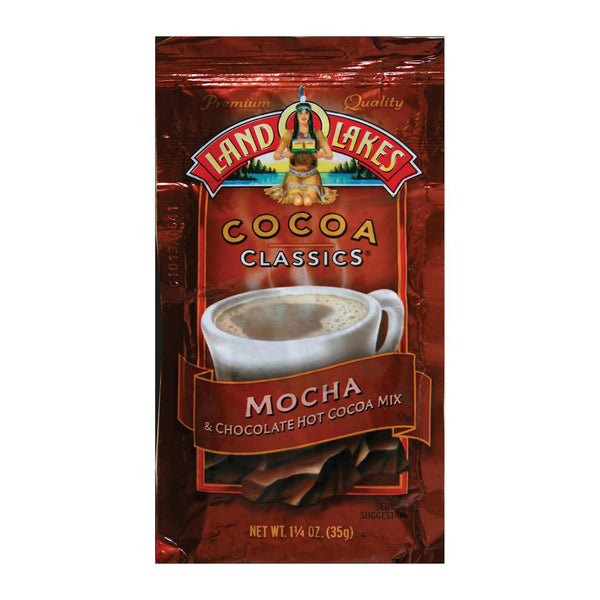 Land O Lakes Cocoa Classics Chocolate & Mocha - Case Of 12 - 1.25 Oz