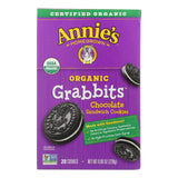 Annie's Homegrown Cookie Grabbits Chocolate - Case Of 10 - 8.06 Oz