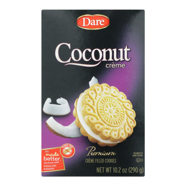 Dare - Cookies - Coconut Creme - Case Of 12 - 10.2 Oz.
