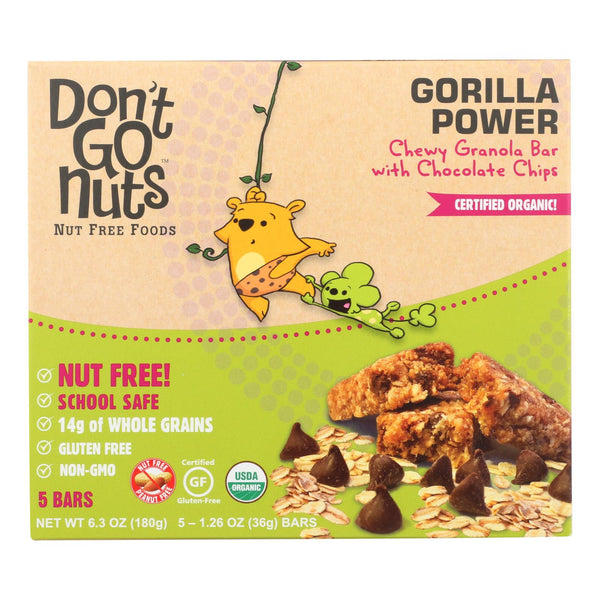 Don't Go Nuts - Bar - Gorilla Power Bar Multipack - Case Of 6 - 6.3 Oz.