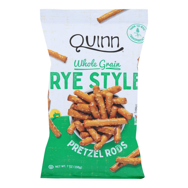 Quinn - Deli Rye Pretzel Stick - Case Of 8 - 7 Oz.