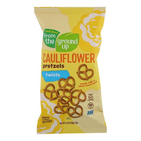 From The Ground Up - Cauliflower Pretzel Sticks - Twist - Case Of 12 - 4.5 Oz.