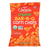 R. W. Garcia Organic Bar-b-q Corn Chips - Case Of 12 - 7.5 Oz