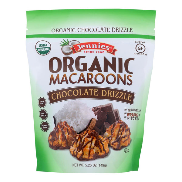 Jennies - Macaroon Chocolate Drizzle - Case Of 6 - 5.25 Oz