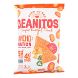Beanitos - White Bean Chips - Nacho Nation - Case Of 6 - 4.5 Oz.