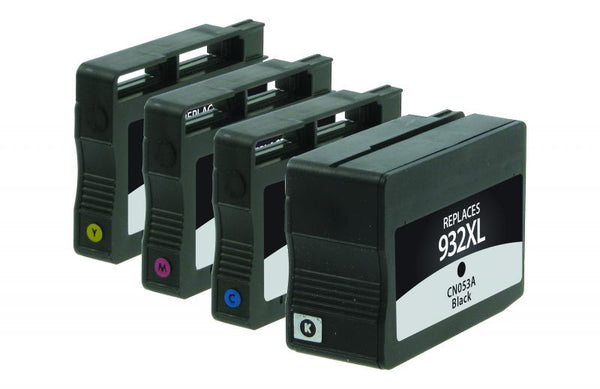 Generic HP 932XL/HP 933 Ink Cartridge - Black, Cyan, Magenta, Yellow