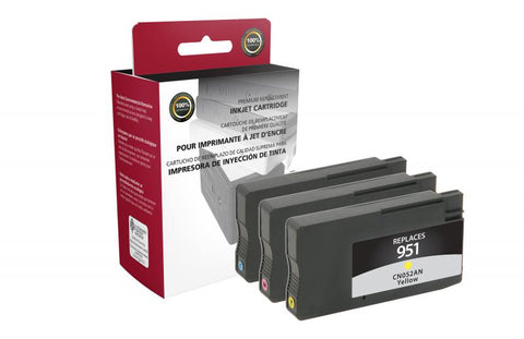 CIG HP #951 Cyan, Magenta, Yellow Ink Cartridges Multi-Pack