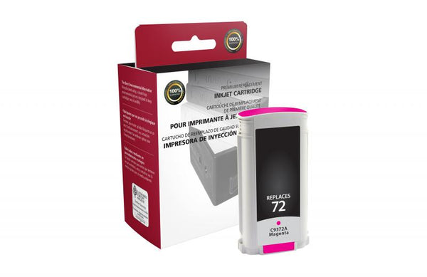 CIG Remanufactured Magenta Ink Cartridge for HP C9372A (HP 72)