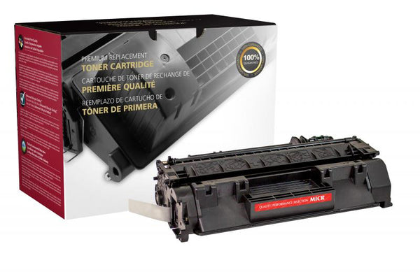 CIG Remanufactured MICR Toner Cartridge for HP CE505A (HP 05A), TROY 02-81500-001