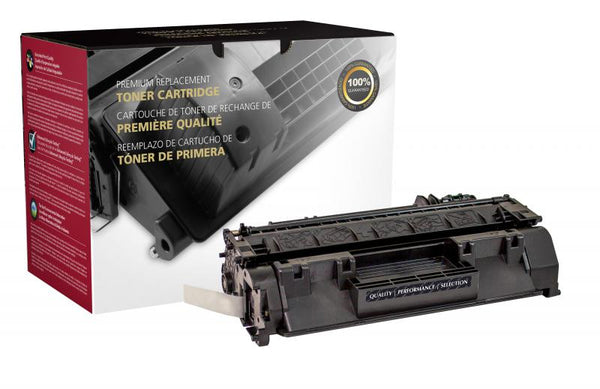 CIG Remanufactured Extended Yield Toner Cartridge for HP CE505A (HP 05A)