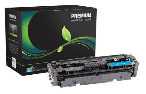 Remanufactured/Compatible HP 410A (CF410A ) Cyan Toner Cartridge
