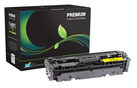 Remanufactured/Compatible HP 410A (CF410A ) Yellow Toner Cartridge