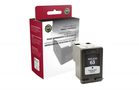 HP 63 (F6U62AN) Remanufactured Inkjet Cartridge