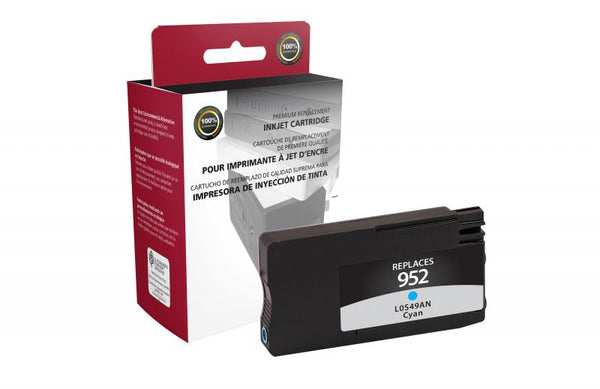 CIG Remanufactured Cyan Ink Cartridge for HP L0S49AN (HP 952)