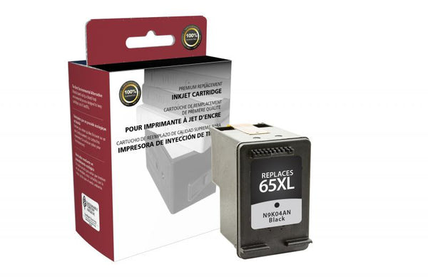CIG Remanufactured High Yield Black Ink Cartridge for HP N9K04AN (HP 65XL)