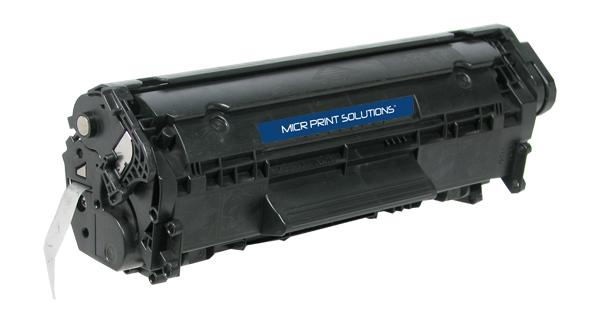 MICR Print Solutions Genuine-New MICR Toner Cartridge for HP Q2612A (HP 12A)