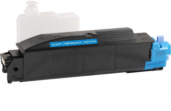 CIG Non-OEM New Cyan Toner Cartridge for Kyocera TK-5142C