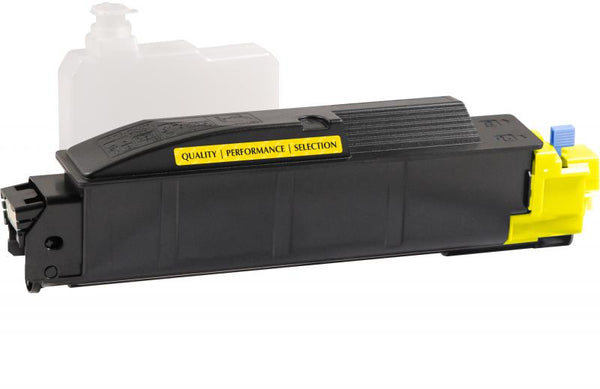 CIG Non-OEM New Yellow Toner Cartridge for Kyocera TK-5142Y