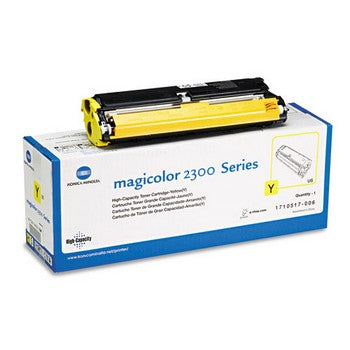 Konica-Minolta 1710517006 Yellow, High Yield Toner Cartridge