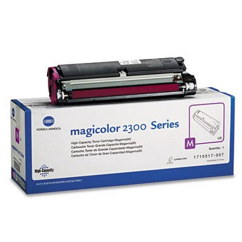 Konica-Minolta 1710517007 Magenta, High Yield Toner Cartridge