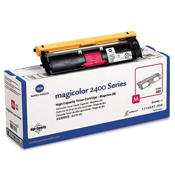 Konica-Minolta 1710587006 Magenta, High Yield Toner Cartridge