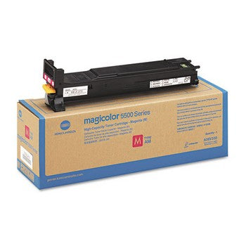 Konica-Minolta A06V333 Magenta, High Yield Toner Cartridge