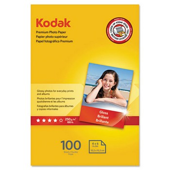 Kodak 4 x 6 Glossy Photo Paper