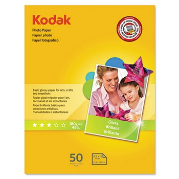 Kodak 8.5 x 11 Glossy Photo Paper