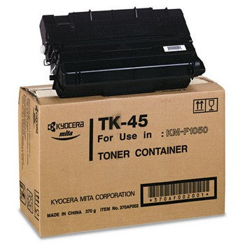 Kyocera TK-45 Black Toner Cartridge, Kyocera TK45