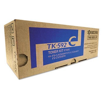 Kyocera TK592C Cyan Toner Cartridge