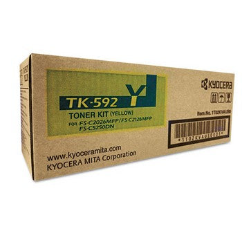 Kyocera TK592Y Yellow Toner Cartridge