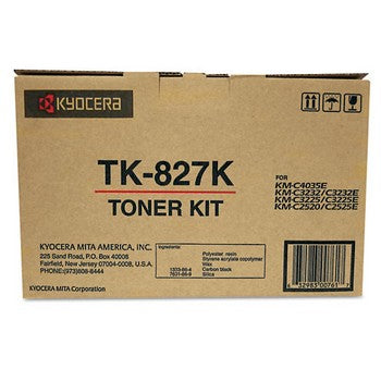 Kyocera TK827K Black Toner Cartridge
