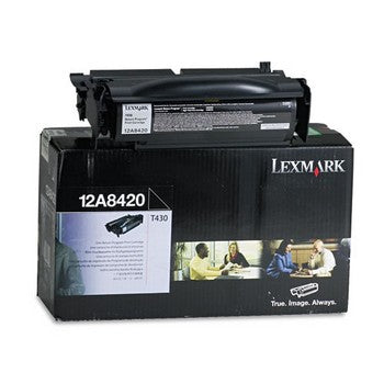 Lexmark 12A8420 Black Toner Cartridge