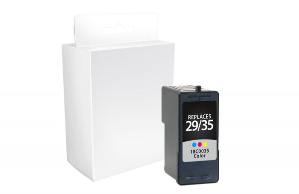 CIG Remanufactured Color Ink Cartridge for Lexmark #29/#35
