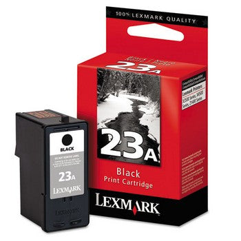 Lexmark 23A Black Ink Cartridge, Lexmark 18C1623